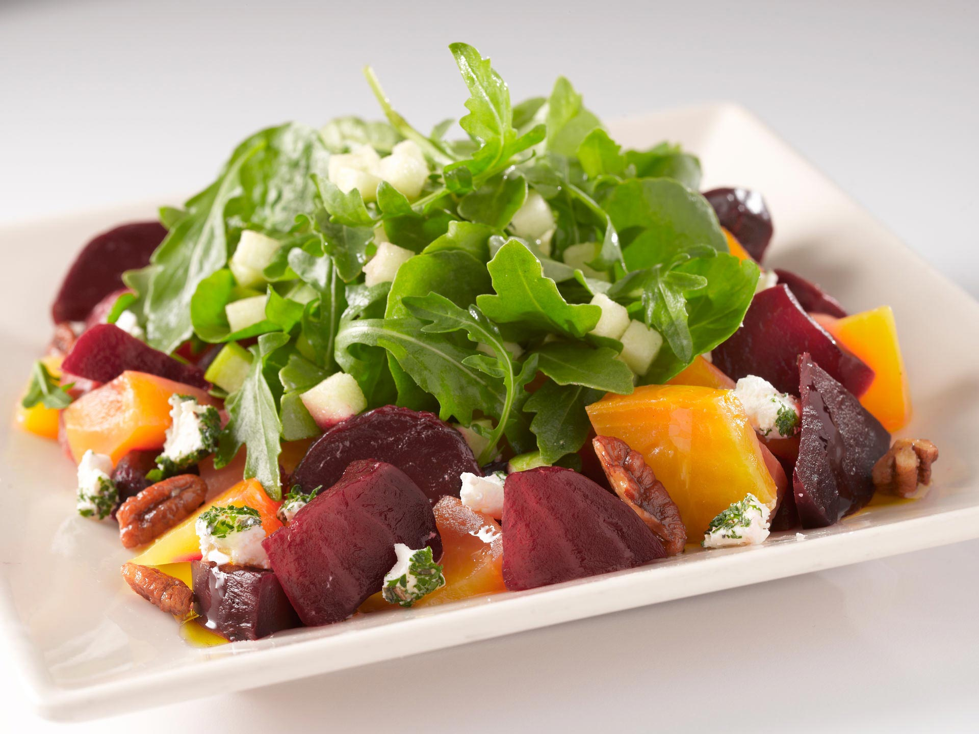 Beets With Goat Cheese