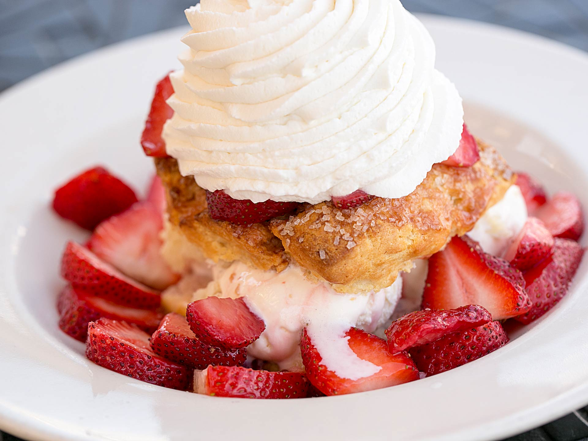 Fresh Strawberry Shortcake